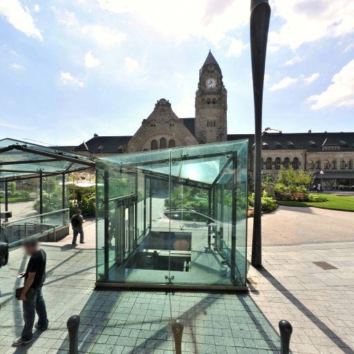 Parking De La Gare Charles Gaulle - Parking public - Metz