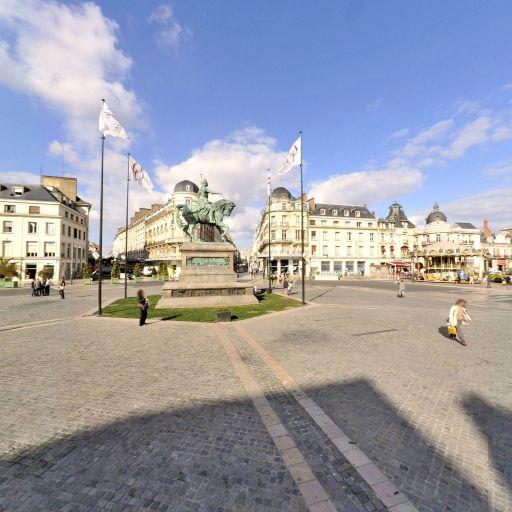 Jeanne d'Arc - Attraction touristique - Orléans