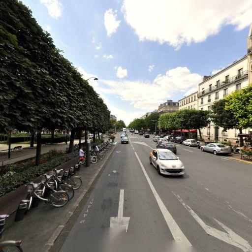 Station Vélib' Place Charles Digeon - Vélos en libre-service - Saint-Mandé