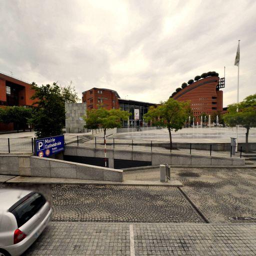 Parking Mairie-Cathédrale - Parking - Évry-Courcouronnes