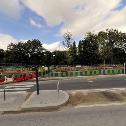 Ile Saint Germain - Parking public - Issy-les-Moulineaux