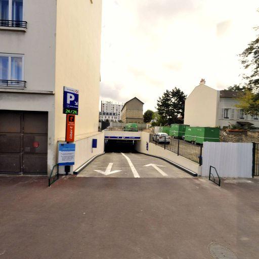 Jean Jaurès - Parking public - Rueil-Malmaison