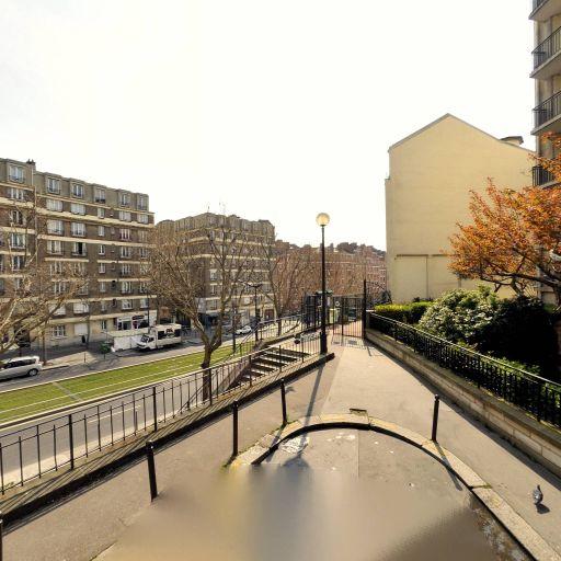 Jardin de la rue de la Justice - Parc, jardin à visiter - Paris