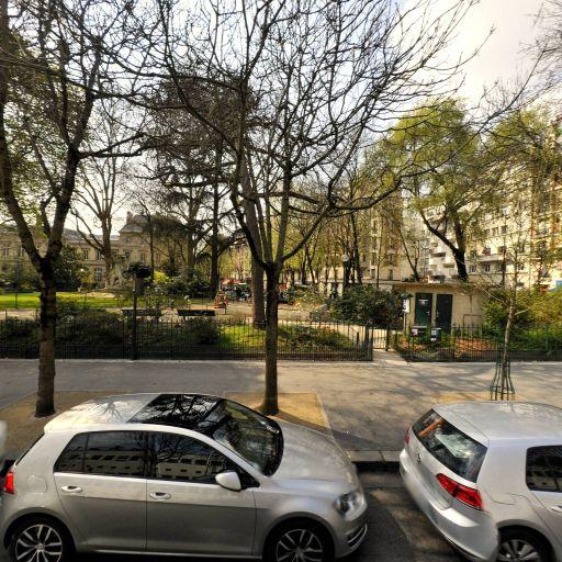 Parc Gambetta - Parc et zone de jeu - Paris