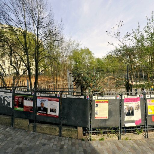 Jardin Lesseps - Parc et zone de jeu - Paris