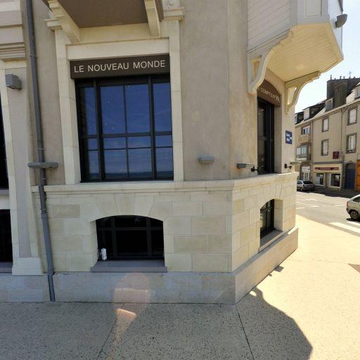 Hôtel Le Nouveau Monde - Restaurant - Saint-Malo