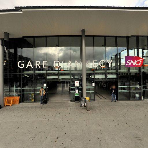 Gare d'Annecy - Transport ferroviaire - Annecy