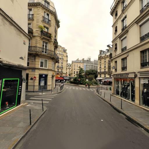 Station Vélib' Lavandieres Sainte Opportune - Rivoli - Vélos en libre-service - Paris