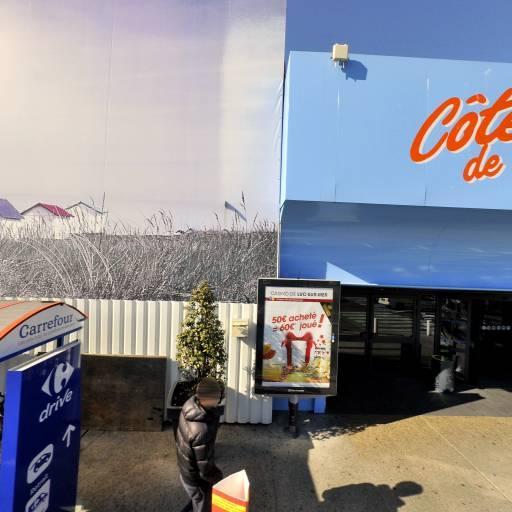 Aire de covoiturage carrefour côte de nacre - Aire de covoiturage - Caen