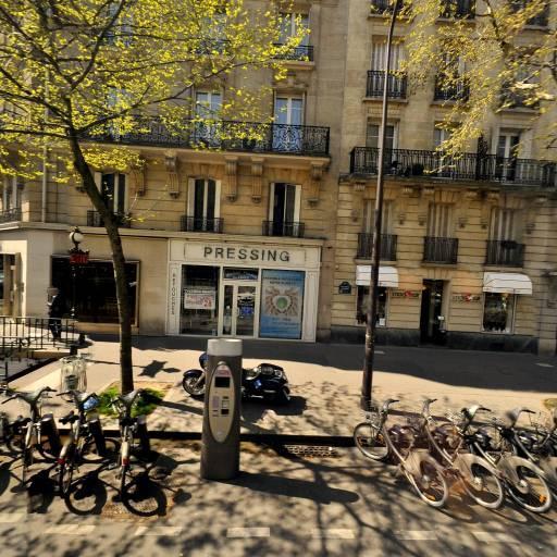 Station Vélib' Exelmans - Michel-Ange - Vélos en libre-service - Paris