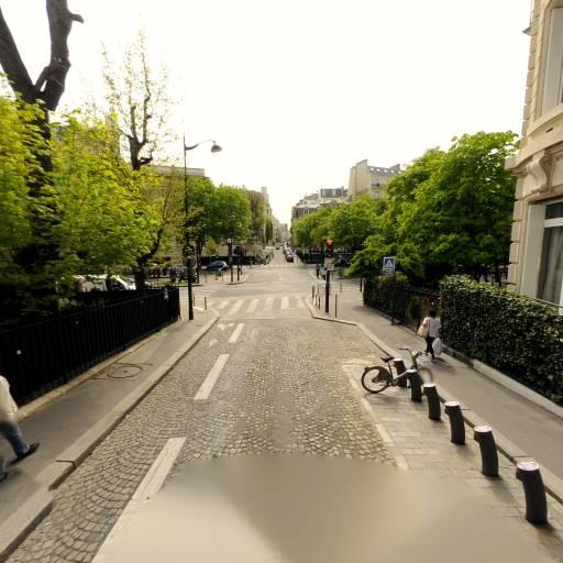 Station Vélib' Sablons - Georges Mandel - Vélos en libre-service - Paris