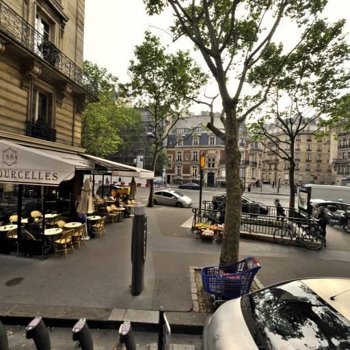 Station Vélib' Chazelles - Courcelles - Vélos en libre-service - Paris
