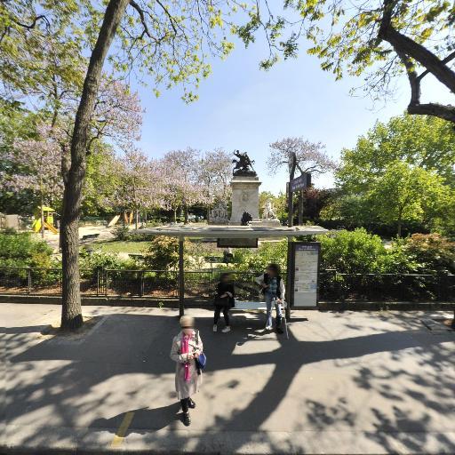 Square Barye - Sites et circuits de tourisme - Paris
