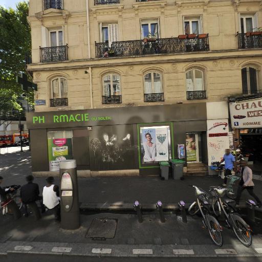 Station Vélib' Gare de l'Est - Fidélité - Vélos en libre-service - Paris