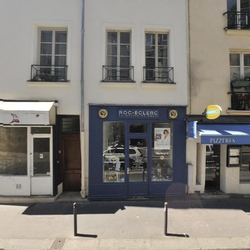 Roc-Eclerc P.F. & Marbrerie Damas - Pompes funèbres - Paris