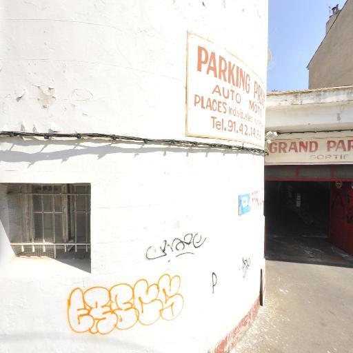 Garage Méridional - Parking public - Marseille