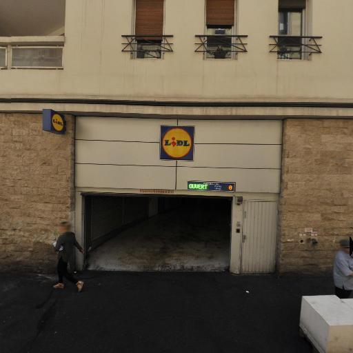 Parking du supermarché Lidl - Parking - Marseille