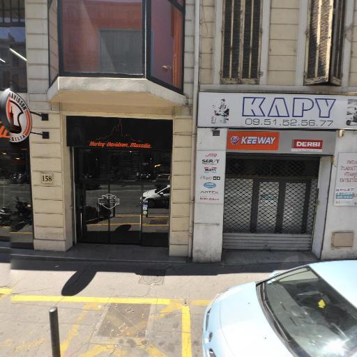 Harley Davidson - Agent concessionnaire motos et scooters - Marseille