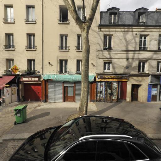 Lagrif Bleue - Tatouages - Paris