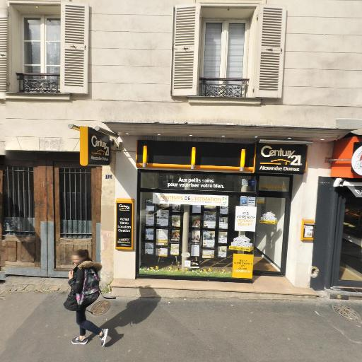 CENTURY 21 Alexandre Dumas - Agence immobilière - Paris