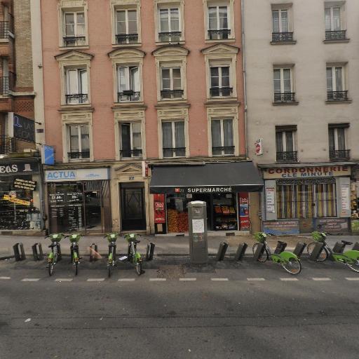 Station Vélib' Charonne - Philippe-Auguste - Vélos en libre-service - Paris