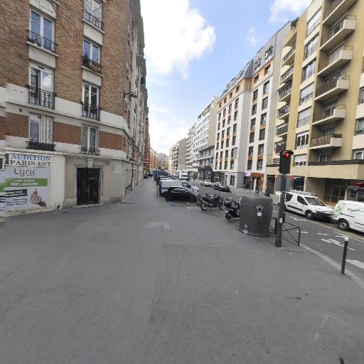 Station Vélib' Pyrénées - Plaine - Vélos en libre-service - Paris
