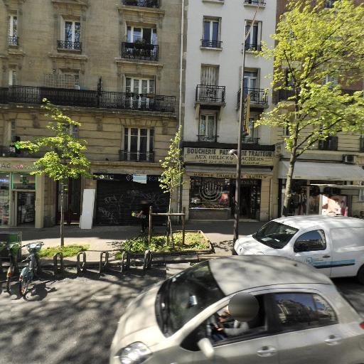 Station Vélib' Gambetta - Hôpital Tenon - Vélos en libre-service - Paris