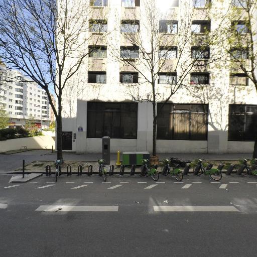 Station Vélib' Frères Flavien - Porte des Lilas - Vélos en libre-service - Paris