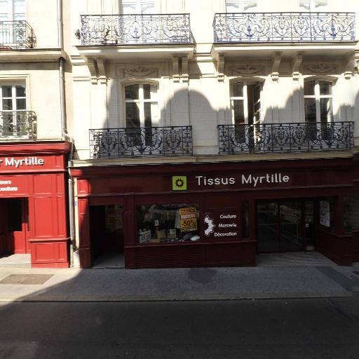 Myrtille - Tissus au mètre - Nantes