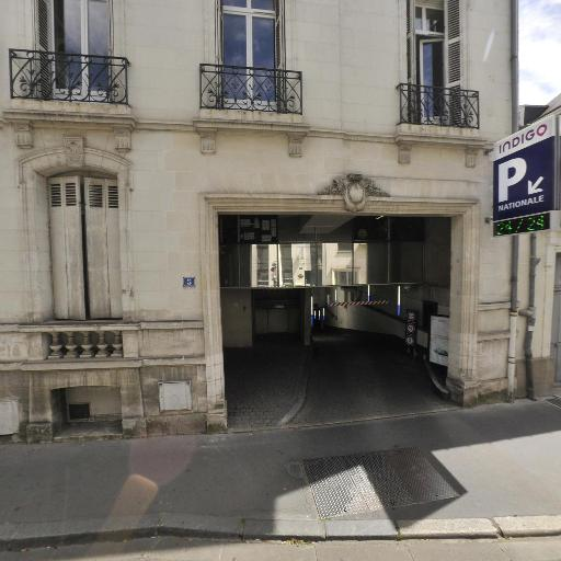 Nationale - Parking public - Tours