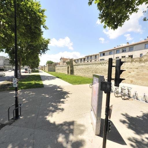 Station vélos Thiers - Vélos en libre-service - Avignon
