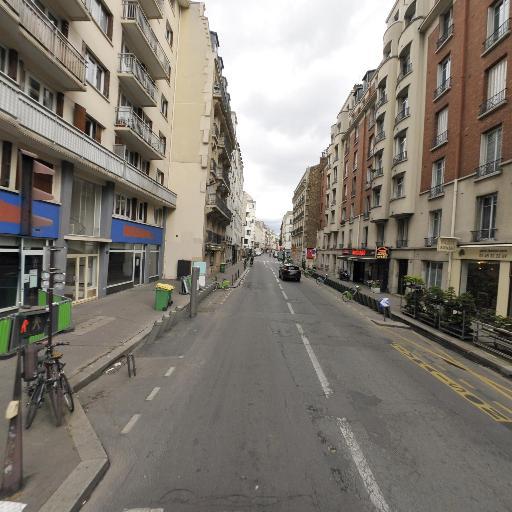 Station Vélib' Croix Nivert - Square Saint-Lambert - Vélos en libre-service - Paris