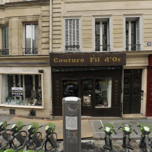 Station Vélib' Square Louis XVI - Vélos en libre-service - Paris