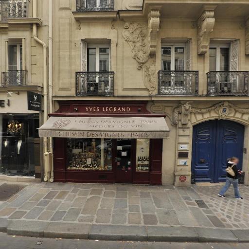 Chemin des Vignes - Vente en ligne et par correspondance - Paris