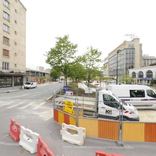 Aire de covoiturage parking de la gare - Aire de covoiturage - Troyes