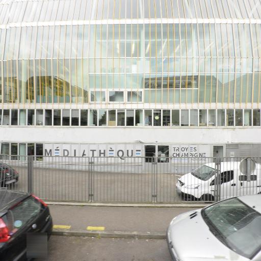 Médiathèque Du Grand Troyes - Bibliothèque et médiathèque - Troyes