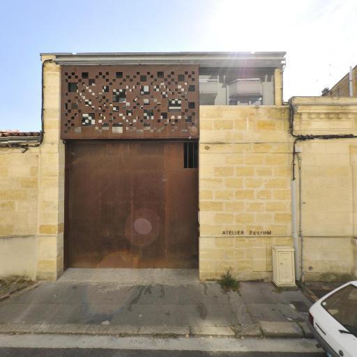 Atelier Zelium SARL - Entreprise de menuiserie - Bordeaux
